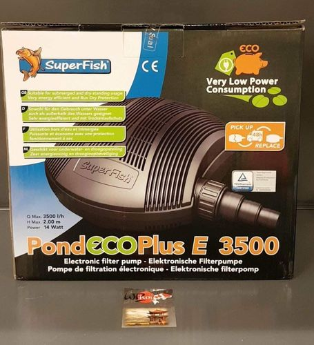 POND ECO PLUS E 3500 14w