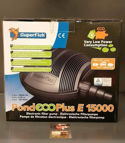 POND ECO PLUS E 15.000 130w