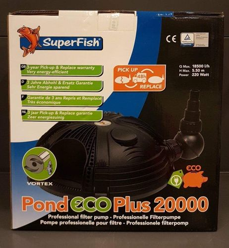POND ECO PLUS 20.000 l 220w