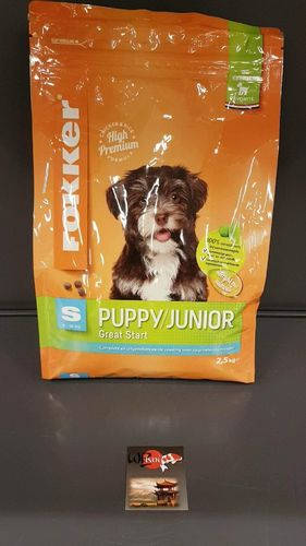 PUPPY JUNIOR S 2,5 kg