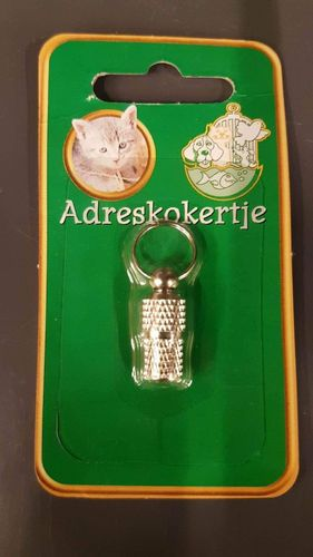 ADRESKOKER CHROOM POES 22 mm