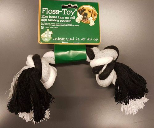 FLOSS-TOY MIDDEL ZWART/WIT