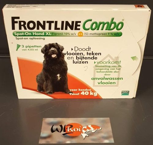 FRONTLINE COMBO DOG XL 3 pipetten